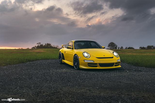 Porsche 997 Carrera S - Ruger Mesh - Matte Black