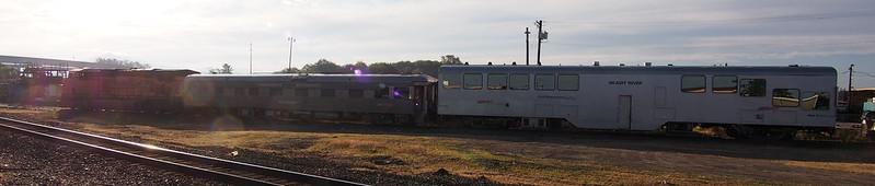 BNSF Track Measuring Car