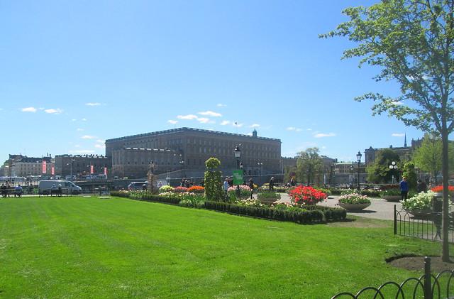 Stockholm Gardens, Royal Palace
