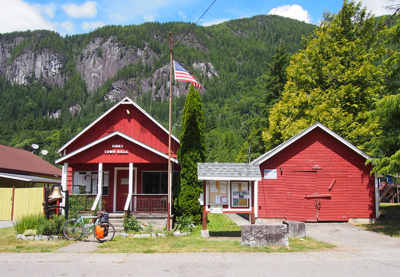 Index Town Hall and Old Fire House