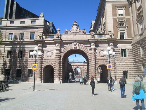 Riksdag gateway, Stockholm