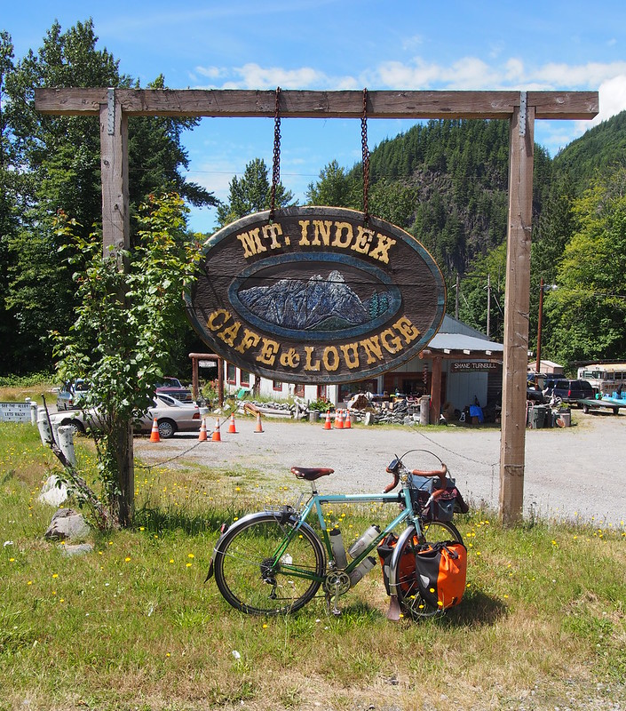 """Mount Index Cafe & Lounge: Used to have a <a href=""""https://www.flickr.com/photos/105592384@N07/14298461220"""">brewery and distillery</a>."""