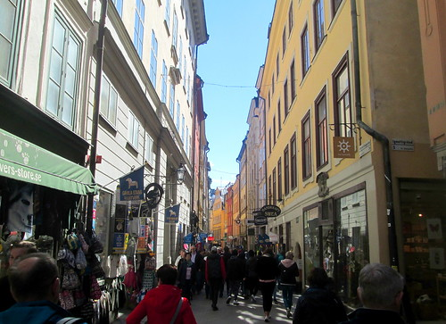 Gamla Stan, old Stockholm