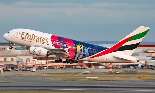 A6-EOH - Airbus A380-861 - LHR