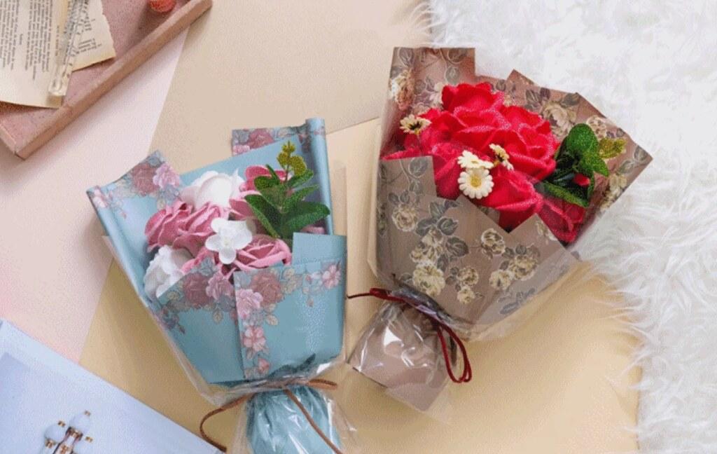 永生玫瑰香皂花束
