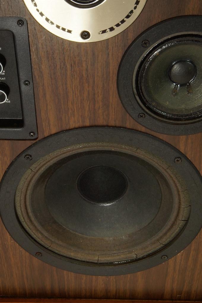 RD28546 Uber RARE 1977 Marantz HD66 Speakers 150 Watts Silverface Tweeter DSC01078