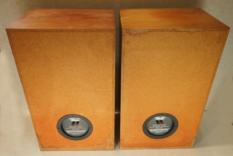RD28546 Uber RARE 1977 Marantz HD66 Speakers 150 Watts Silverface Tweeter DSC01069