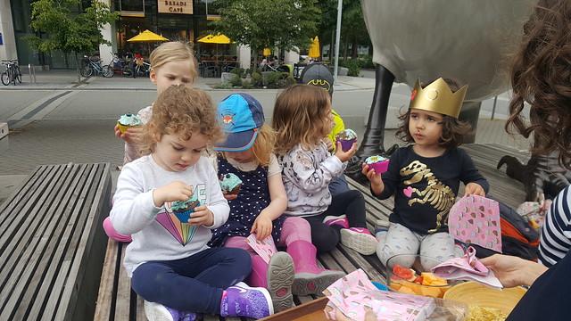Birthday in Bird Plaza