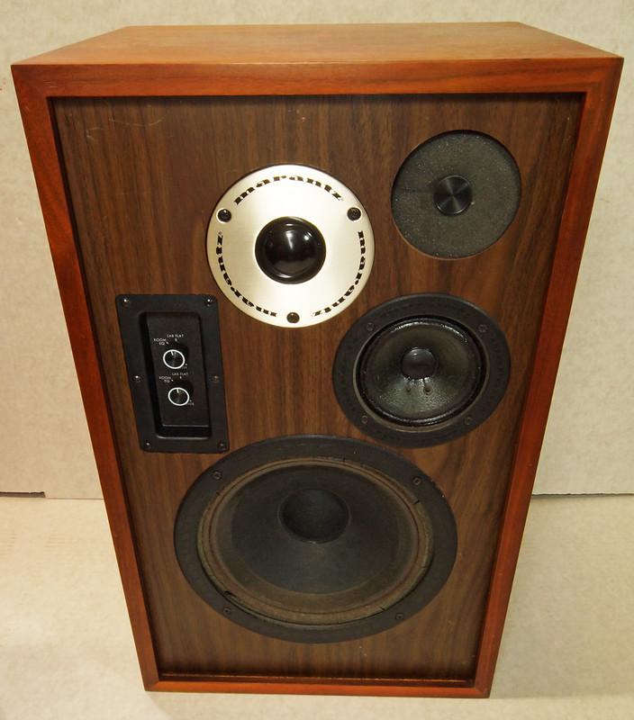 RD28546 Uber RARE 1977 Marantz HD66 Speakers 150 Watts Silverface Tweeter DSC01079