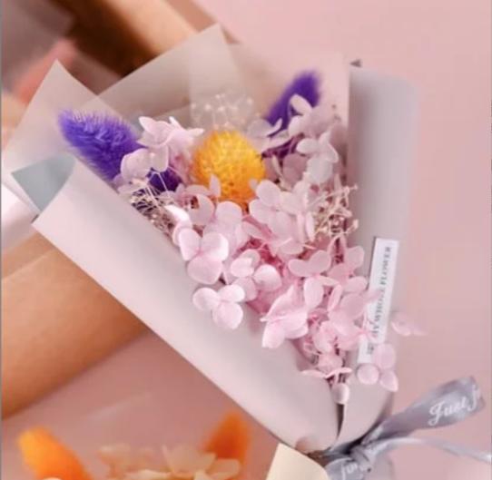 甜蜜愛戀乾燥花束禮盒