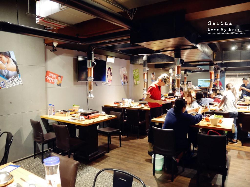 台北東區平價韓國燒烤熱炒吃到飽啾哇嘿喲韓式烤肉專門店 (2)