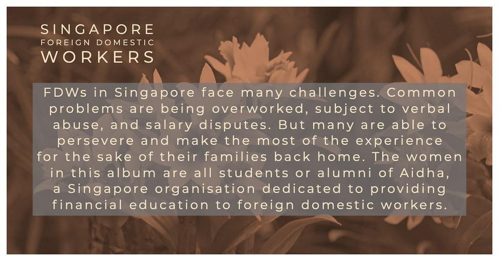 Singapore FDW profiles
