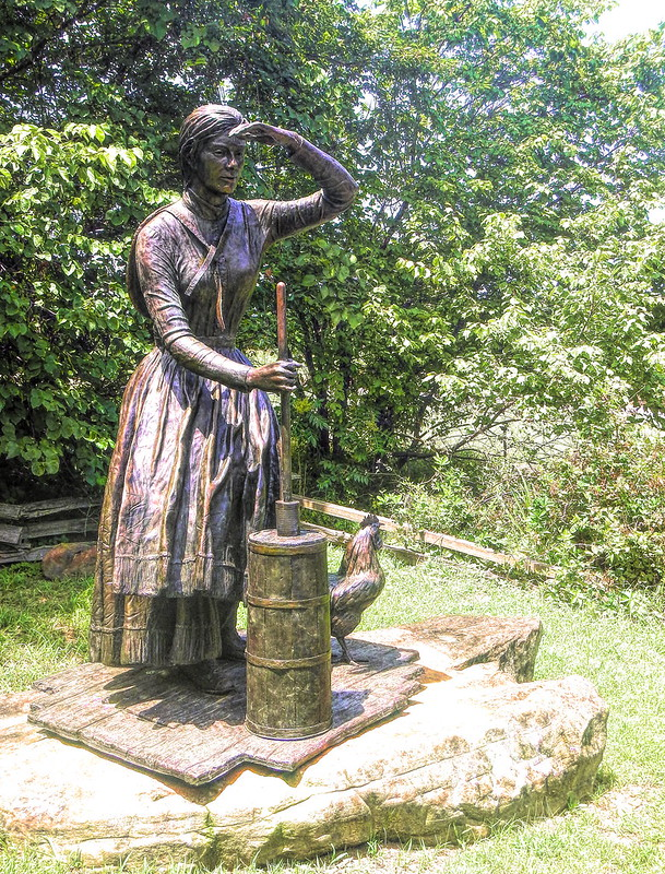 Gilcrease Pioneer Woman
