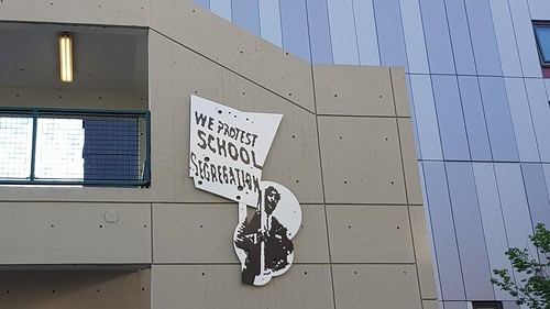 We protest school segregation