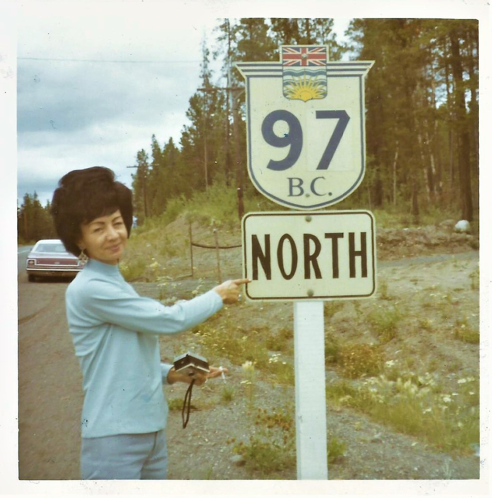 Dot in British Columbia, July 25, 1970