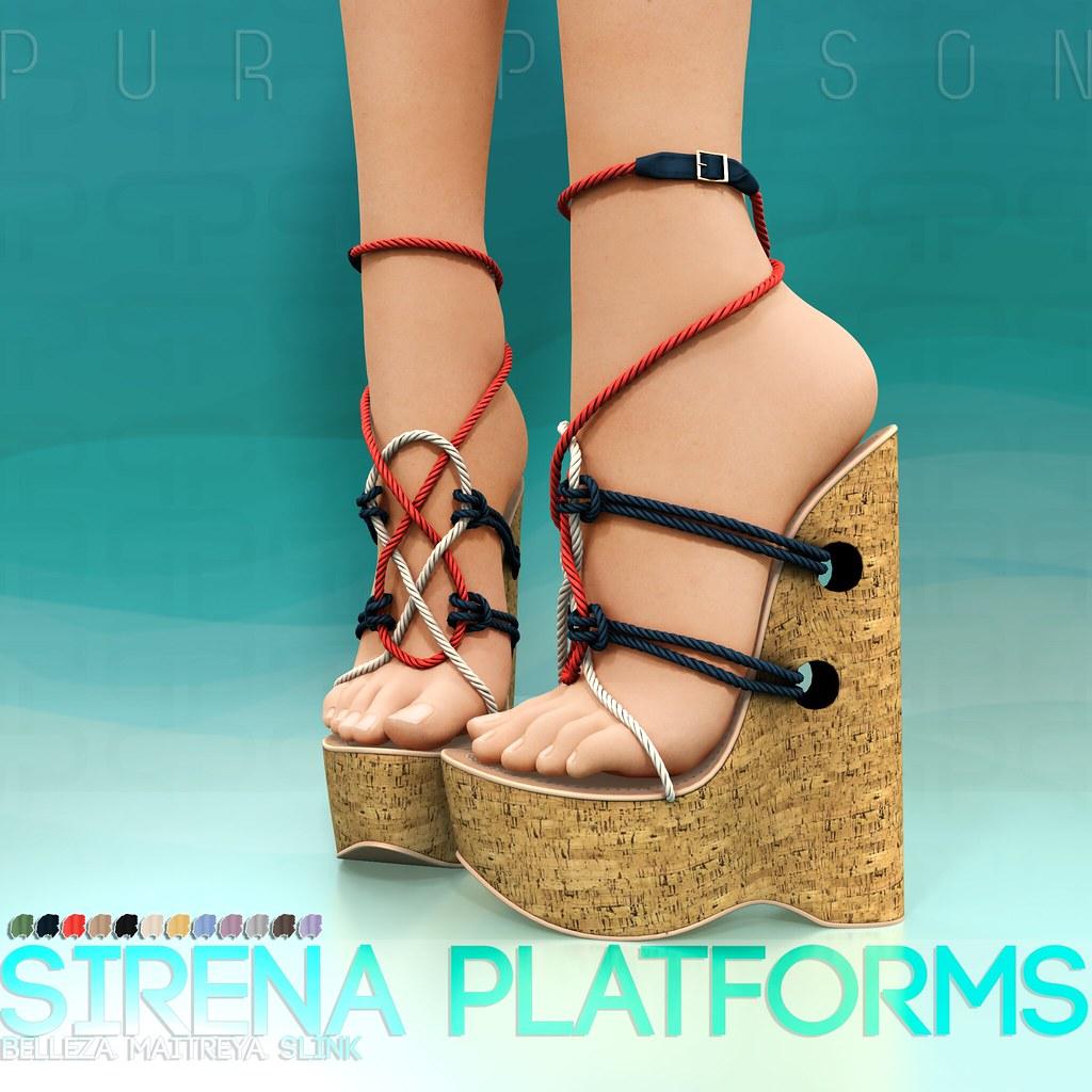 Pure Poison – Sirena Platforms AD