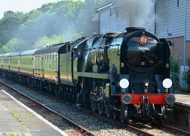 SR 'West Country and Battle of Britain Class 34046 'Braunton'