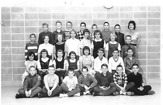 Future AHS 1969 Alumni 1st 6th grade class at Sawyer Elementary School Ames Iowa