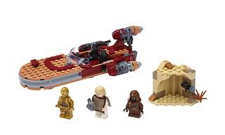 重回經典,樂高帶你回味冒險的起點! LEGO 75270、75271《星際大戰四部曲:曙光乍現》年輕路克、老歐、陸行艇又來啦~!