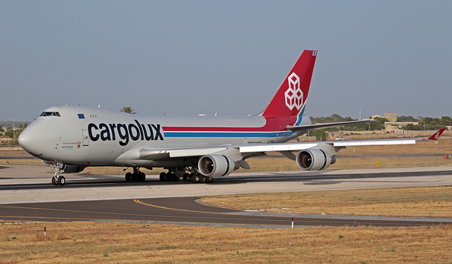 LX-MCL LMML 17-06-2019 Cargolux Airlines International  Boeing 747-4HAERF CN 35232