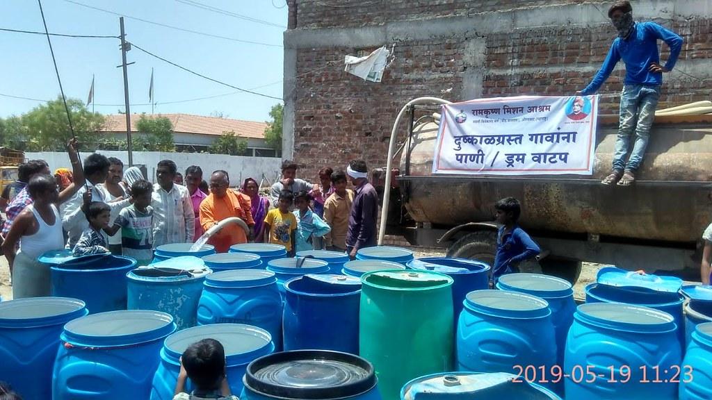 Drought Relief : Aurangabad