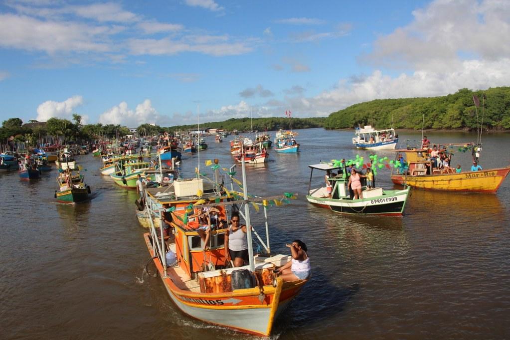 Procissão de barcos (2)
