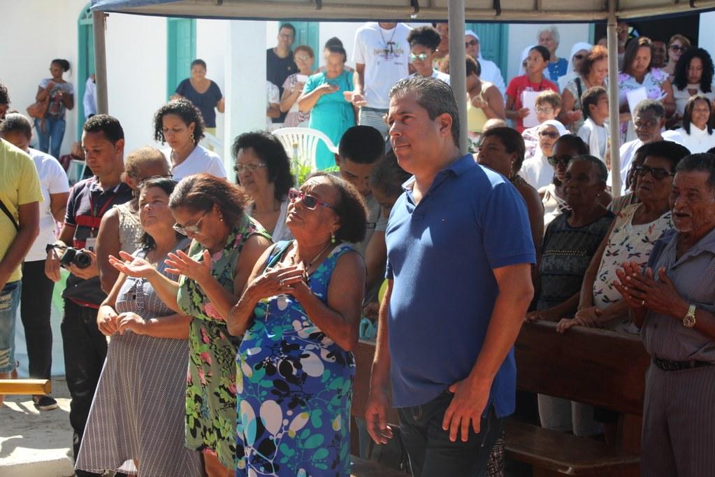 Celebração na programação religiosa em homenagem à São Pedro (1)
