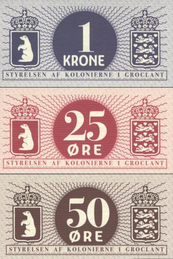 Groclant 25-50 Øre, 1 Krone 2018