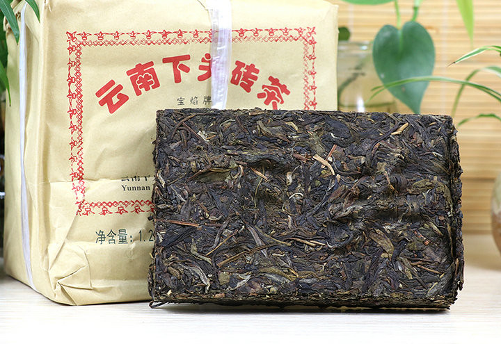 """2019 XiaGuan """"Bian Xiao Zhuan"""" Brick 250g*5= 1250g Puerh Raw Tea Sheng Cha"""