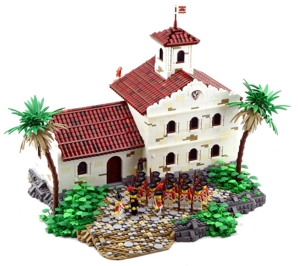 Adminstrative Offices, Port Woodhouse (custom built Lego model)