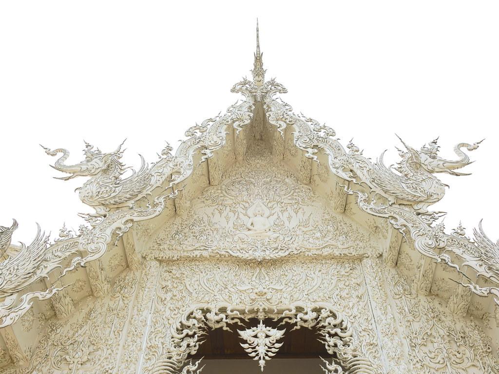 清萊一日遊 白廟(又名白龍寺、靈光寺、龍昆寺)