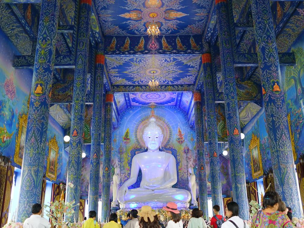 清萊一日遊 藍廟
