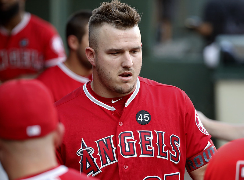 Mike Trout。(達志影像)