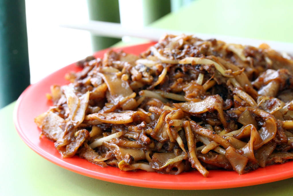 Outram Park Fried Kway Teow Mee Closeup