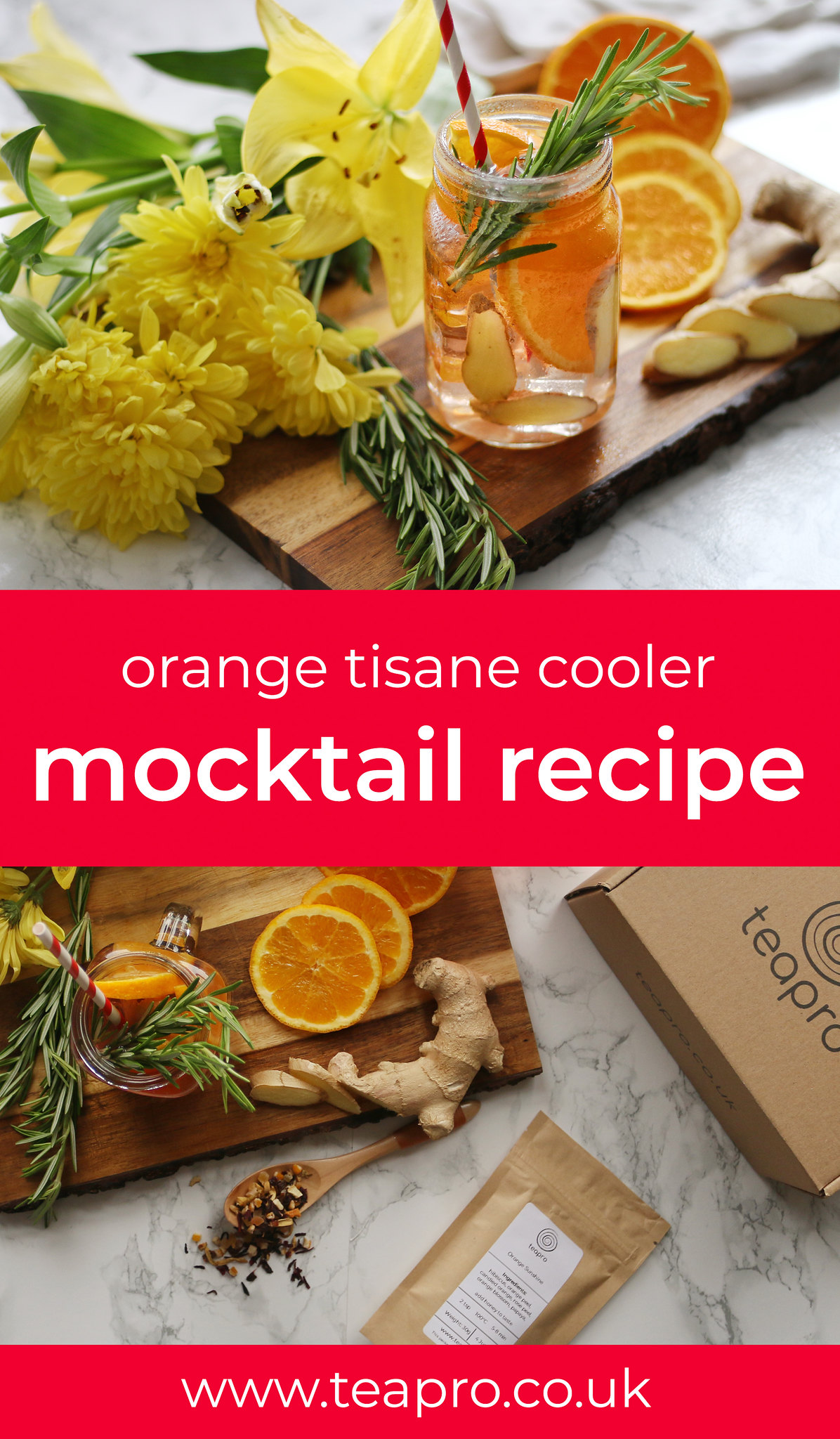 Teapro invigorating orange tisane recipe