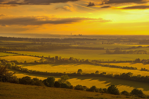 watlington hill oxfordshire didcot power station andreapucci sunset