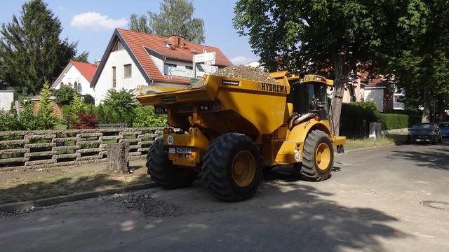 2019 Dumper mit Knicklenkung 912FS von Hydrema in Støvring in Dänemark Werk-Nr. 13584 Im Haselwinkel in 12589 Berlin-Hessenwinkel