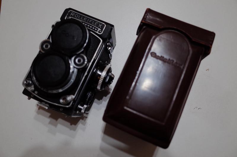 Rolleiflex 2 8Fと純正Rolleiflex 2