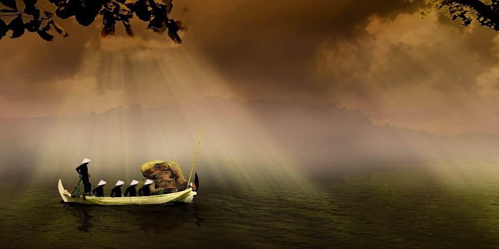 bateau-primitif-japon-mystère