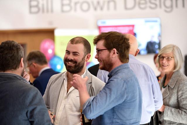 Volunteers Reception, Bill Brown Suite, University of Bristol