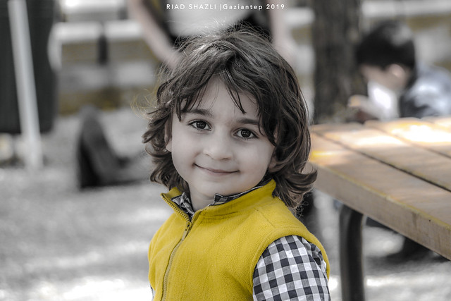 The innocence of the face . . . . . Turkey - Gaziantep PH : Riad Shazli