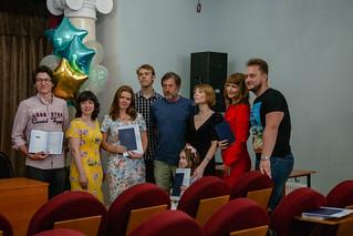 24 июня 2019 в актовом зале Литинститута состоялось торжественное вручение дипломов выпускникам Высших литературных курсов.