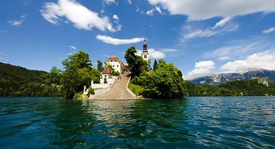 Doen aan Lake Bled: Bled eiland | Mooistestedentrips.nl
