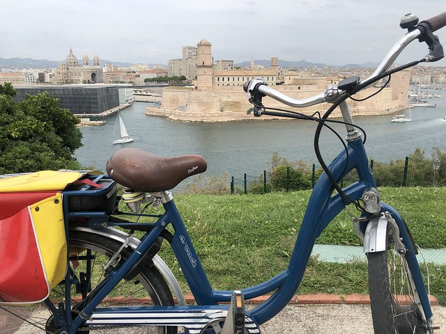 Vistas desde Palais du Pharo en Marsella
