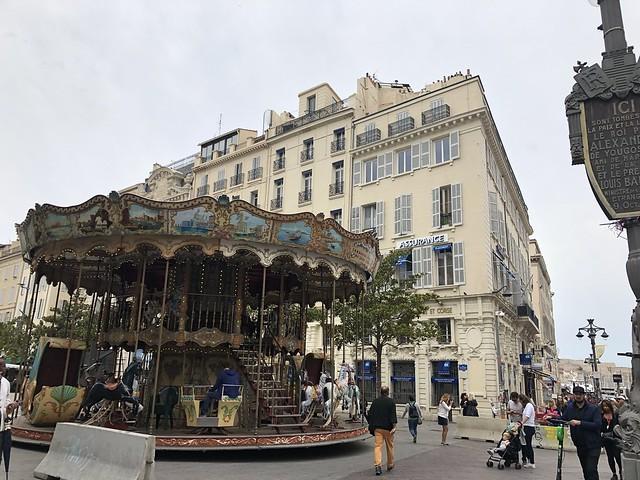 La Canebiere en Marsella