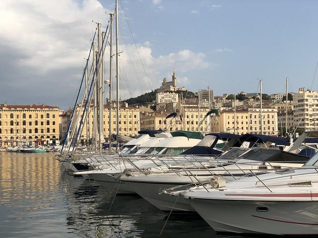 Vieux Port en Marsella