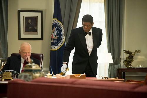 Cecil en el despacho del presidente Truman