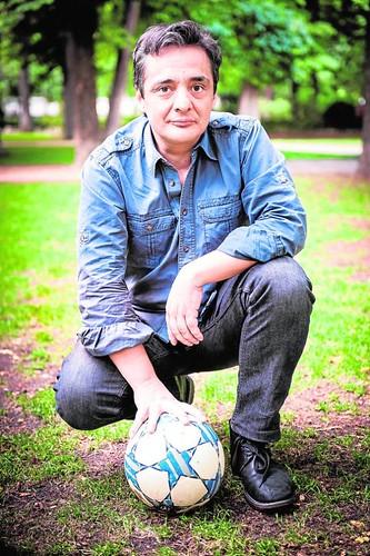 Juan Pablo Meneses en una entrevista con ABC