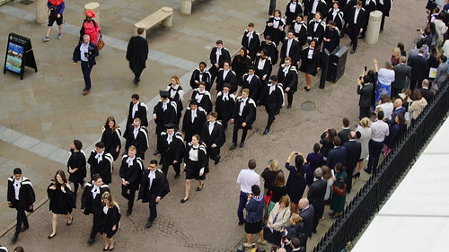 King's College 2019 Procession 11