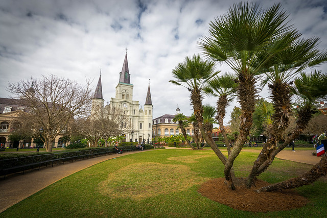 New Orleans, French Quarter, Jackson Square, Louisiana, USA